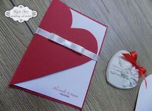 Partecipazioni Matrimonio 1 Euro.Invito Partecipazione Nozze Matrimonio Tema Amore Romantico 1 80