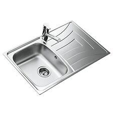 Teka lavello angolo 2 lavabo acciaio inox Lavandino incasso cucina ...
