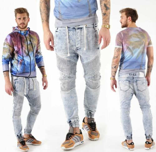 Vsct Clubwear Neo Cuffed Jeans blue stone Jogg Jeans pantalon