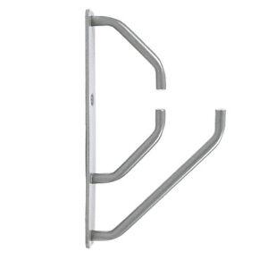 1 X Contemporain Mat Metalique Support Pour 18mm Bois Étagère Tablettes