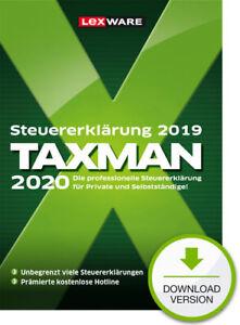 TAXMAN 2020 - Steuerjahr 2019, Download, Windows