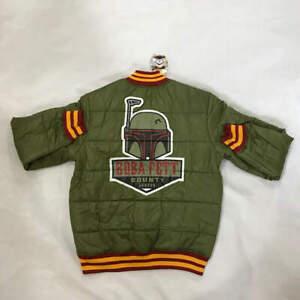 Star-Wars Boba Fett Bounty Hunter Bomber Jacket