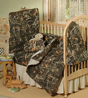 REALTREE MAX 4 CAMOUFLAGE BABY CRIB BEDDING SET - 5 PIECES, TODDLER