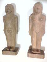 Wooden Dolls 5, Munecos Carga, Santeria, Elegua, Ifa, Babalawo, Osain, Orula