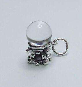 cristallo-sfere-3D-cristalloscopia-Wicca-Pagano-ciondolo-argento-sterling-925