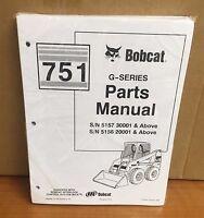 Bobcat 751 Series Skid Steer Loader Parts Manual Free Priority Shipping