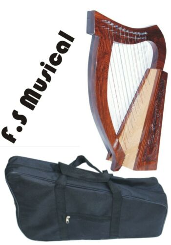 CELTIC 12 STRINGS LAP Harp 24 + Free Bag