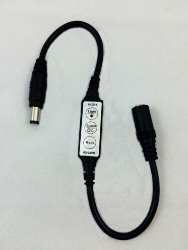 Micro Effects Light 3X orange LED /& control flash blink 9V prop models MELKITO5B