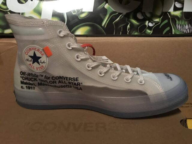 Converse Chuck Taylor X Off White Virgil Abloh 70 High Top Size 11,5 Yeezy Rare