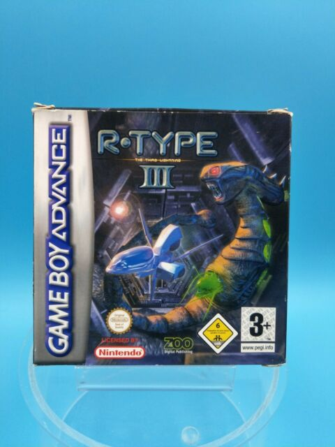 jeu video nintendo gameboy advance complet PAL EUR R type III 3