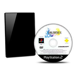 PS2-Jeu-Final-Fantasy-X-10-sans-Emballage-D-039-Origine-sans-Manuel-BB