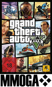 GTA 5 - Grand Theft Auto V Key - PC Digital Download Code NEU [Action][DE/EU]