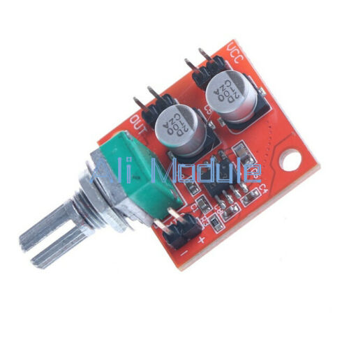 Details about  /DC 3.7V-12V LM386 Electret Microphone Power Amplifier Board Gain 200 Times NEW