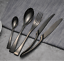 8 sets DESIGNER Stainless Steel Titanium Cutlery Dinner Set Flatware Fork Spoons