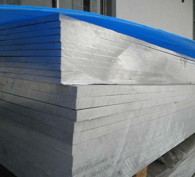 1pcs 7075 Aluminum Al Alloy Plate Sheet  20mm x 170mm x 360mm #E123