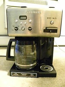 2076d414931 Image is loading Cuisinart-12-Cup-Programmable-Coffeemaker-and-Hot-Water-