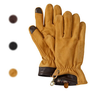 Details zu Timberland Men's Heritage Touchscreen Leather Gloves GL241