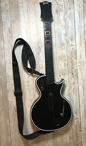 Red Octane PS3 Guitar Hero Wireless Les Paul Gibson Black 95121.805 NO DONGLE