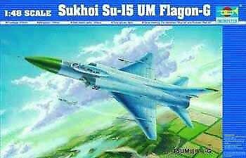 Sukhoi su-15 um flakon g kämpfer 1 48 rohrstabilisierungseinheit trompeter
