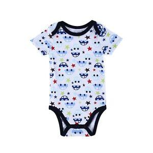 Newborn Baby Girls Boy Cotton Clothes Bodysuit Romper Jumpsuit Playsuit Outfits
