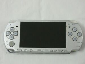 F558-Sony-PSP-2000-console-Silver-Handheld-system-Japan-nx