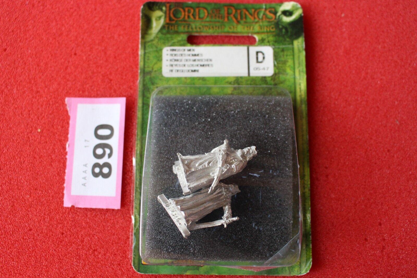 Games Workshop Lord Of The Rings Kings of Men Metal Figures Gondor LoTR OOP Mint