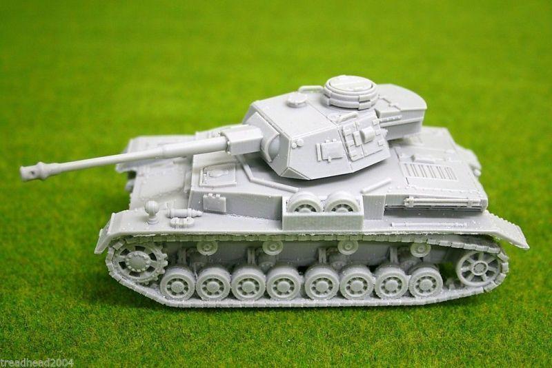 1 48 scale – 28mm WW2 GERMAN PANZER IV Ausf. G resin tank Blitzkrieg miniatures