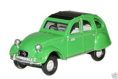 OXFORD  76CT004  Bamboo Green Citroen 2CV  1//76 OO//HO