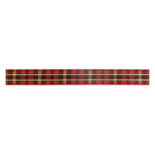Buddly Crafts 10mm Plaid Ribbon 2m Red