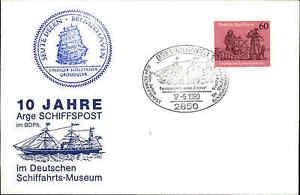 Schiffspost-Stempel-Segelschiff-SEUTE-DEERN-Bremerhaven-034-Postdampfer-Bremen-034-80