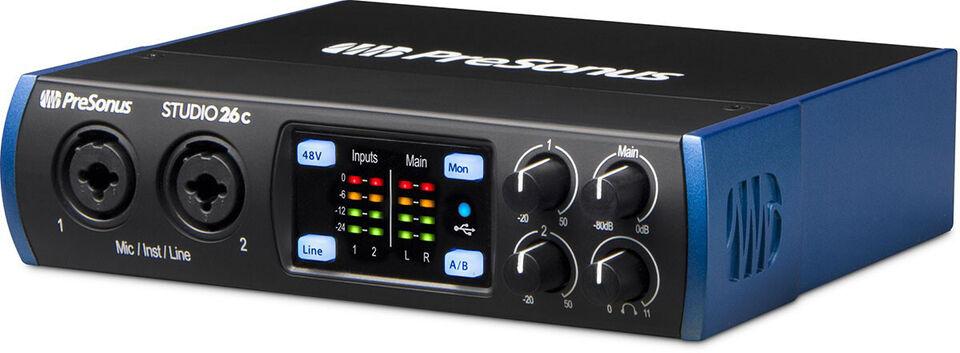 Presonus Studio 26c Audio Interface USB-C