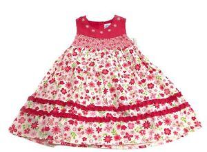 45dcd50ea86 Image is loading BT-KIDS-BUTTERFLY-DAISY-FLOWER-SUMMER-DRESS-SUNDRESS-