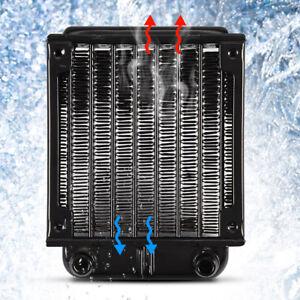 80MM-RADIATORE-ALLUMINIO-TUBETTI-FORMA-S-PER-RAFFREDDAM-LIQUIDO-PC-CPU-COOLING