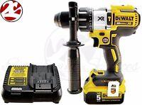 Dewalt Dcd996b 20v Max Lithium Xr 1/2 Brushless 3-speed Hammer Drill Kit