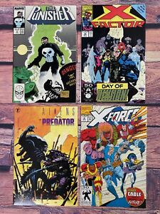 Comic-Book-LOT-Punisher-6-X-Factor-70-Aliens-0-X-Force-8-Signed-MIKE-MIGNOLA