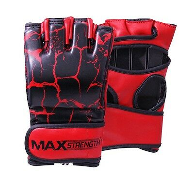 MMA Boxing Gloves Karate Training Cage Fight Mitts UFC Punch Bag Martial Arts