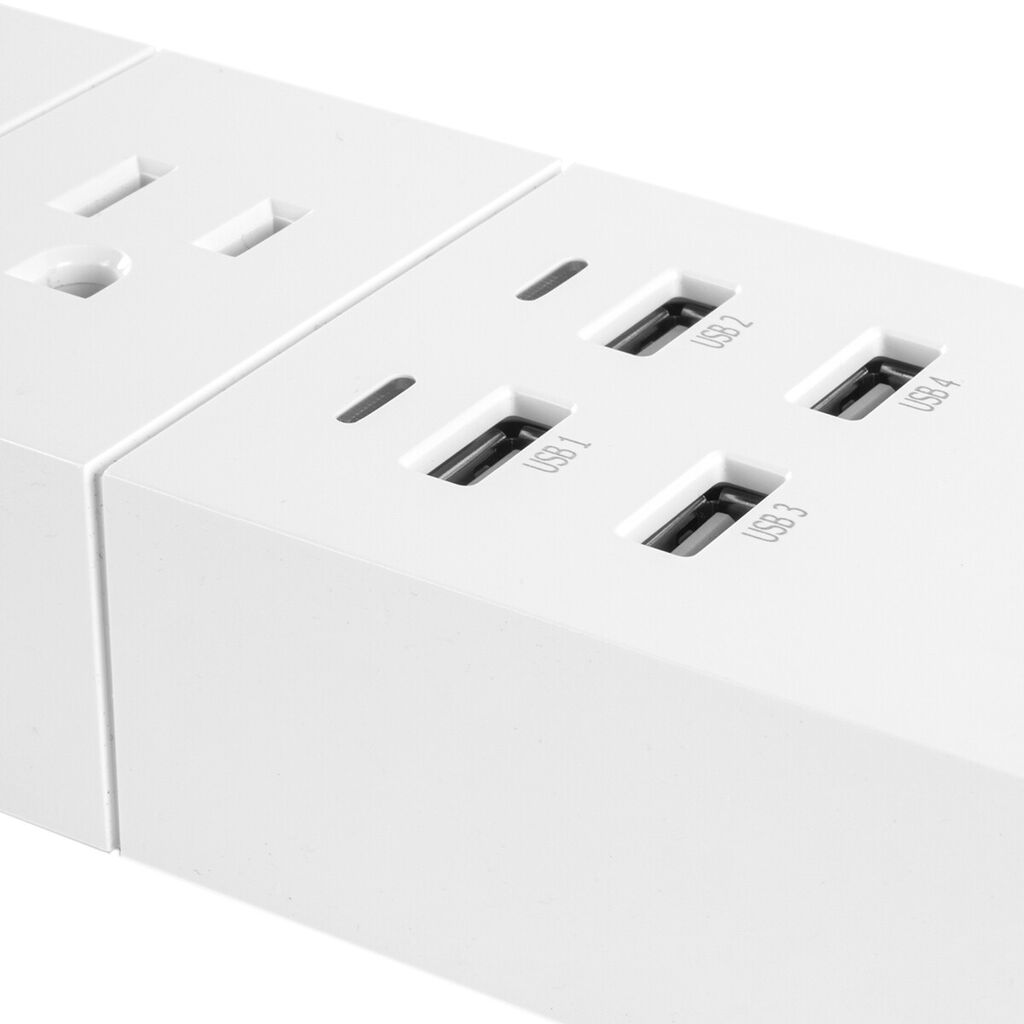NexxtHome Smart Wi-Fi Surge Protector with USB Charging Ports   Ebay