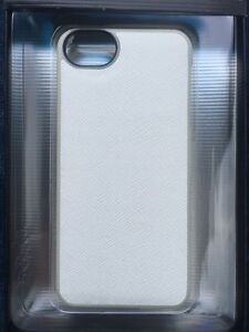 huge selection of 1a0a4 67157 Details about Adopted Fitted White Leather Texture Protective Wrap Case  iPhone 5 5s Cell Phone