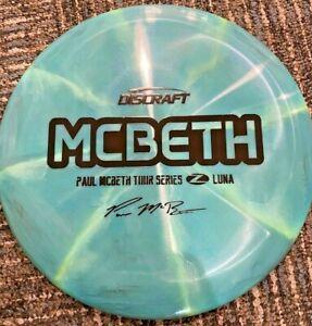 RARE-DISCRAFT-ELITE-Z-SWIRL-PAUL-MCBETH-LUNA-2020-TOUR-SERIES-173-4-BLUE-BLACK