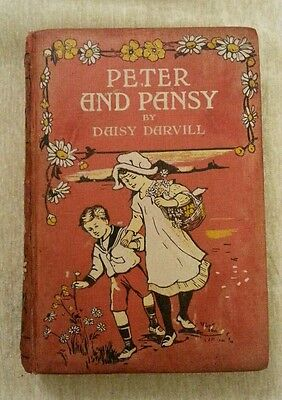 Peter and Pansy by Daisy Darvill Vintage Wyman & Sons Ltd, 1922 Shabby Chic