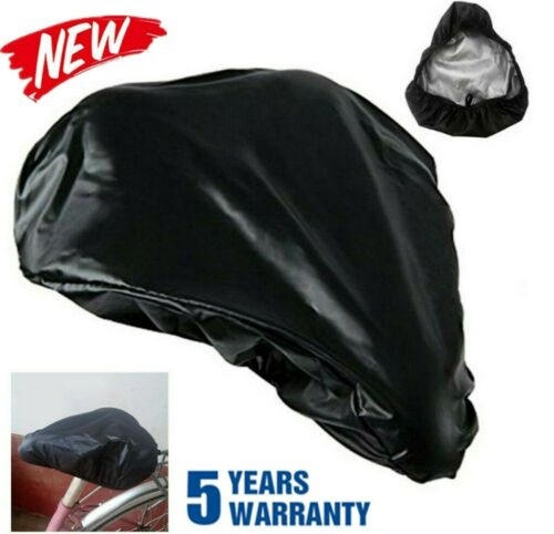 Details about  /Waterproof Bike Seat Cover Bicycle Saddle Plastic Elastic Rain Cover Protective