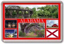 FRIDGE MAGNET - ALABAMA - Large - USA America TOURIST