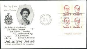 Canada-591-LLpb-Rosecraft-LESTER-PEARSON-Brand-New-1973-Unaddressed-Cover