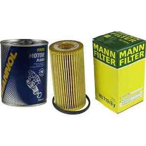 Original-MANN-Olfilter-HU-719-8-y-SCT-Motor-Flush-Motorspuelung