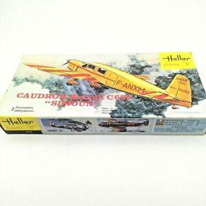 Heller-avion-CAUDRON-RENAULT-C635-Simoun-1-72-scale-Model-Kit-165-sans-Adoucisseur