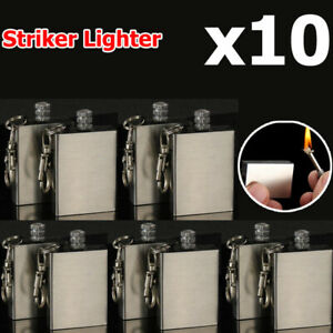 10x-Fire-Starter-Survival-Emergency-Gear-Camping-Flint-Metal-Match-Lighter-Hike