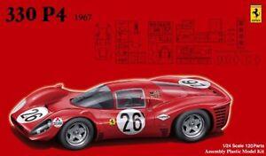 Fujimi RS-48 Real Sports Car Series 48 Ferrari 330 P4 1/24 Scale F/S w/Tracking#