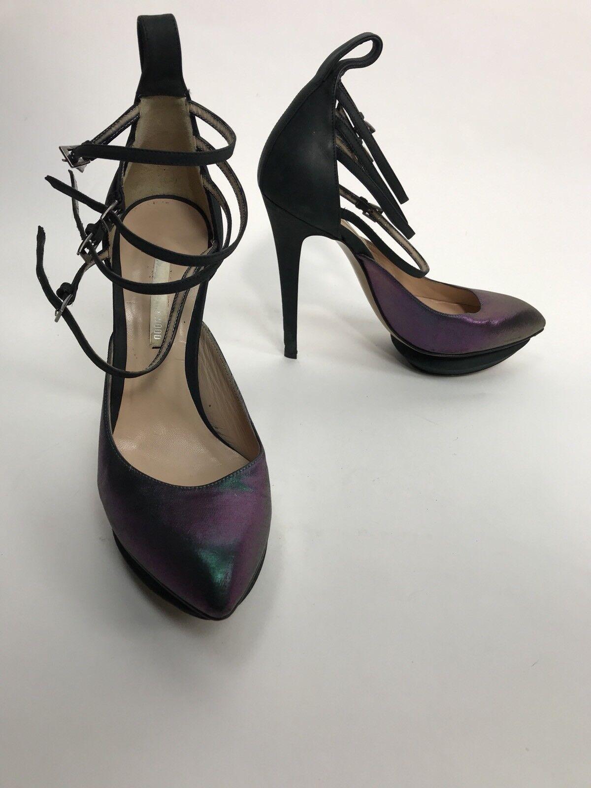 prezzi bassi di tutti i giorni Preowned Nicholas Kirkwood donna High High High Heels SZ 38 Pumps  salutare