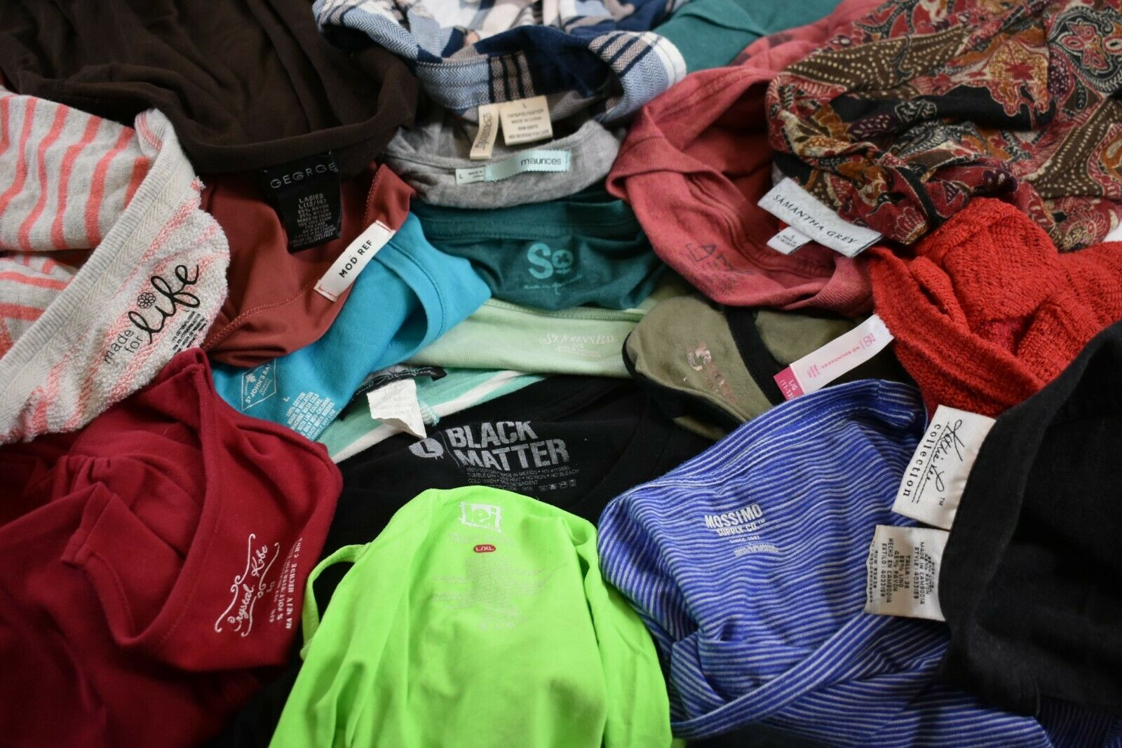 Bulk  Lot of 23 Lands End OP Hottemoerot Woherren S Various Brands & Styles Tops