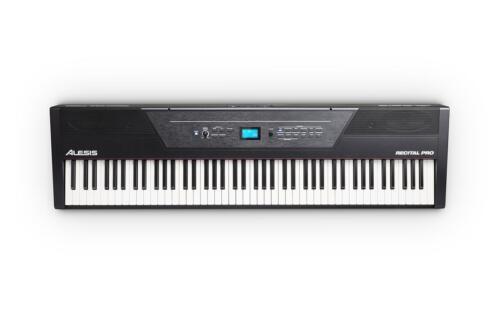 Alesis Recital Pro Stage Digital Piano Keyboard 88 Tasten Hammermechanik Split